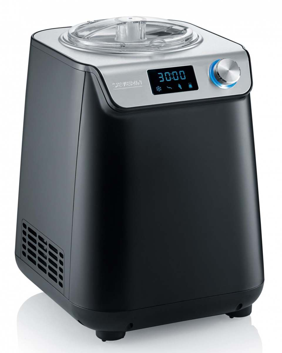 Severin Eismaschine EZ 7407 mit 2-in-1-Funktion warm & cold.
