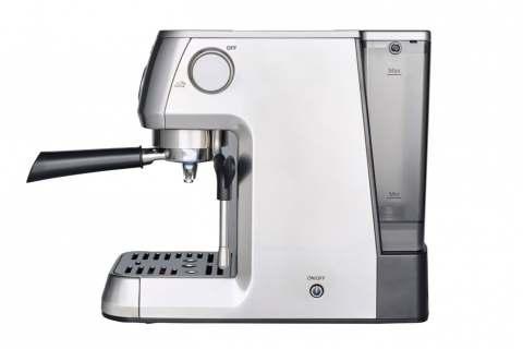 """Rückbesinnung zu den Wurzeln: Solis steht für Kaffee-Kompetenz. Bestes Beispiels: die kompakte Siebträgermaschine """"Barista Perfetta Plus""""."""