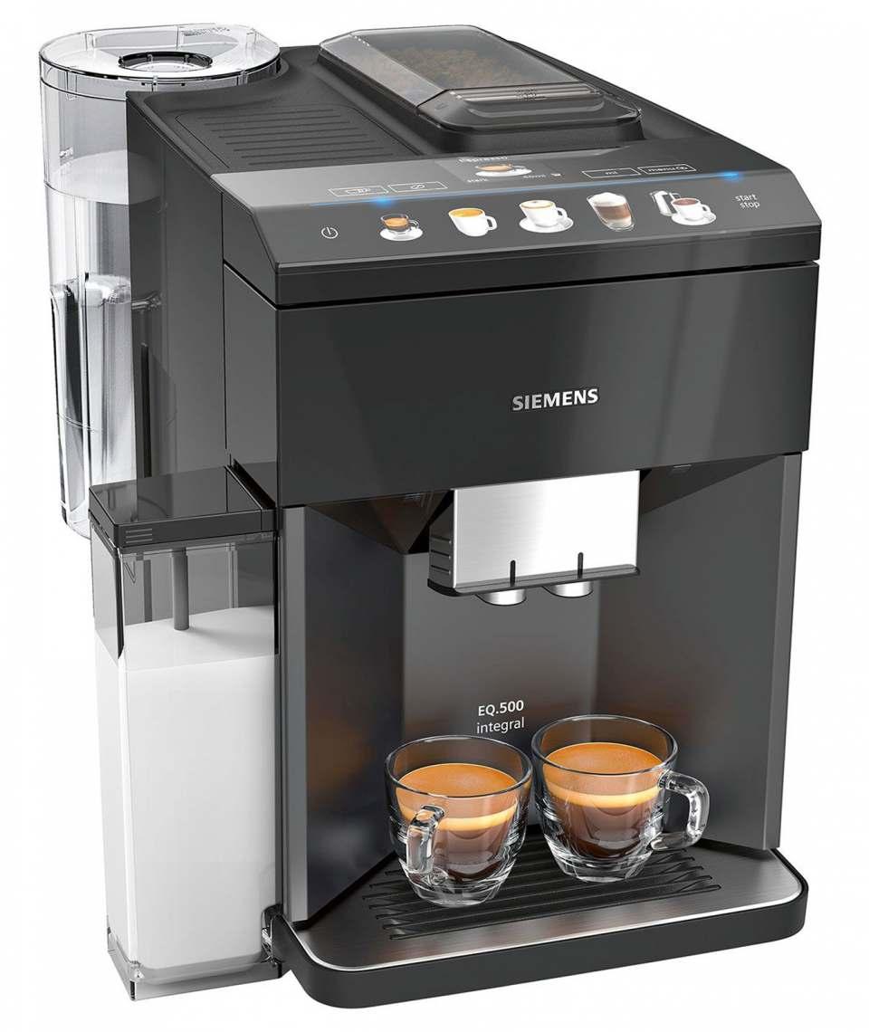 Siemens Kaffeevollautomat EQ.500 classic mit oneTouch DoubleCup.