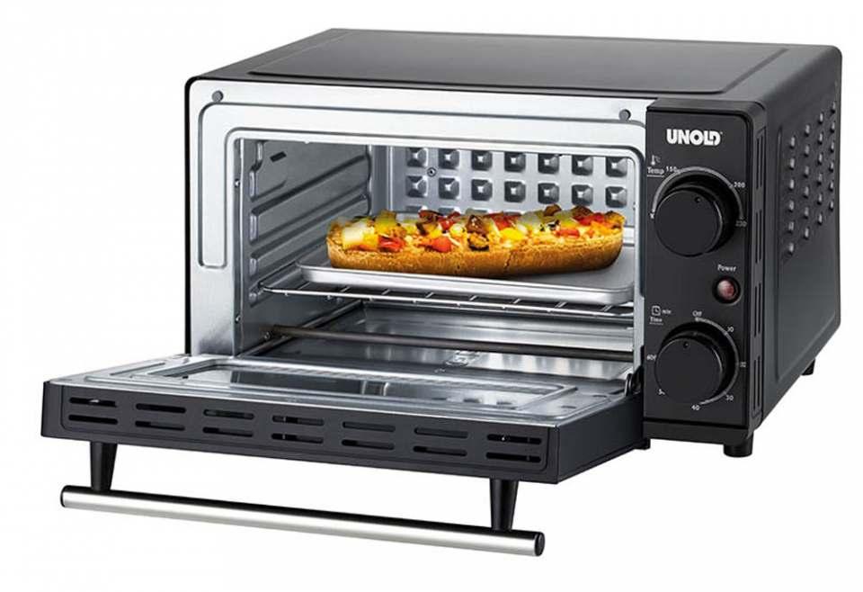 Unold Ofen Kompakt mit Ober-/Unterhitze.