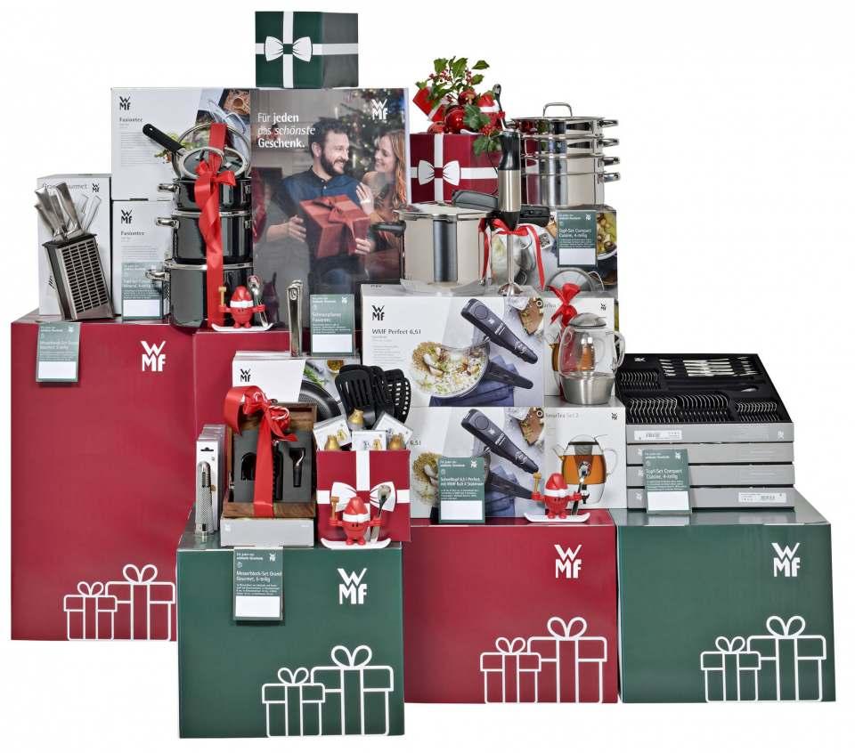 WMF und Silit präsentieren ihre Ideen zu Weihnachten.