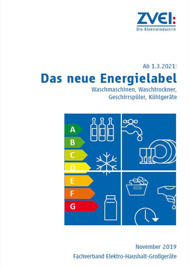 Das neue EU-Energielabel kommt Anfang 2021.