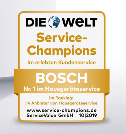 Die Welt Service Champions Bosch