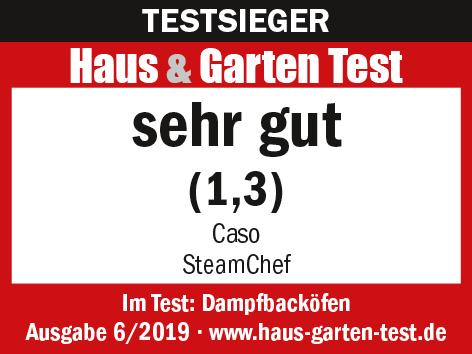 Testsieger Haus & Garten Test Caso SteamChef