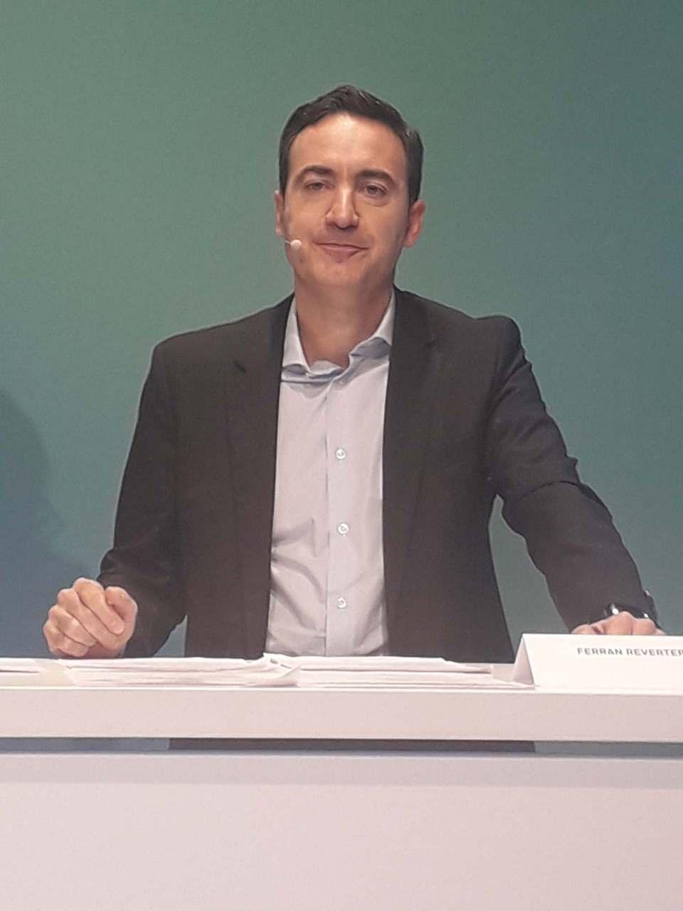"""""""Wir sind heute ein anderes, effizienteres Unternehmen als vor einem Jahr"""", Ferran Reverter."""