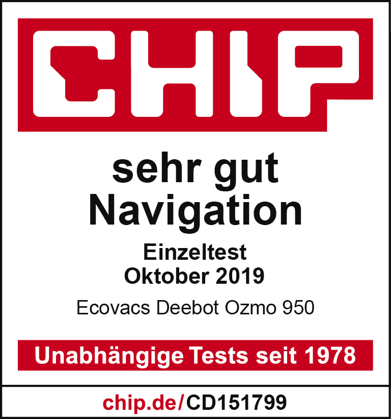 Ecovacs Chip Prüfsiegel