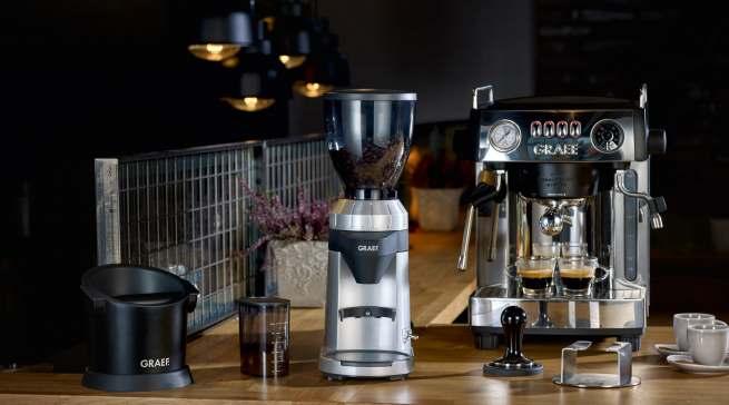 Alleine ganz vorne: Kaffeemühle CM 800 von Graef.
