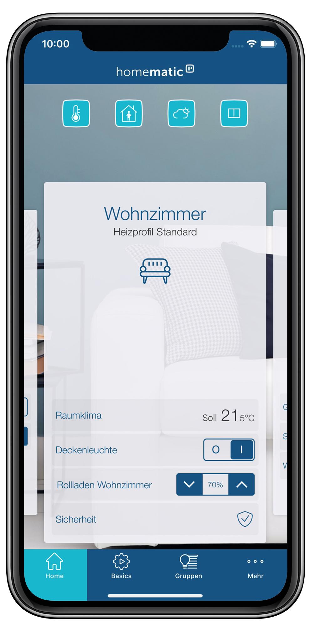 Einfacher und umfangreicher: Homematic IP App.