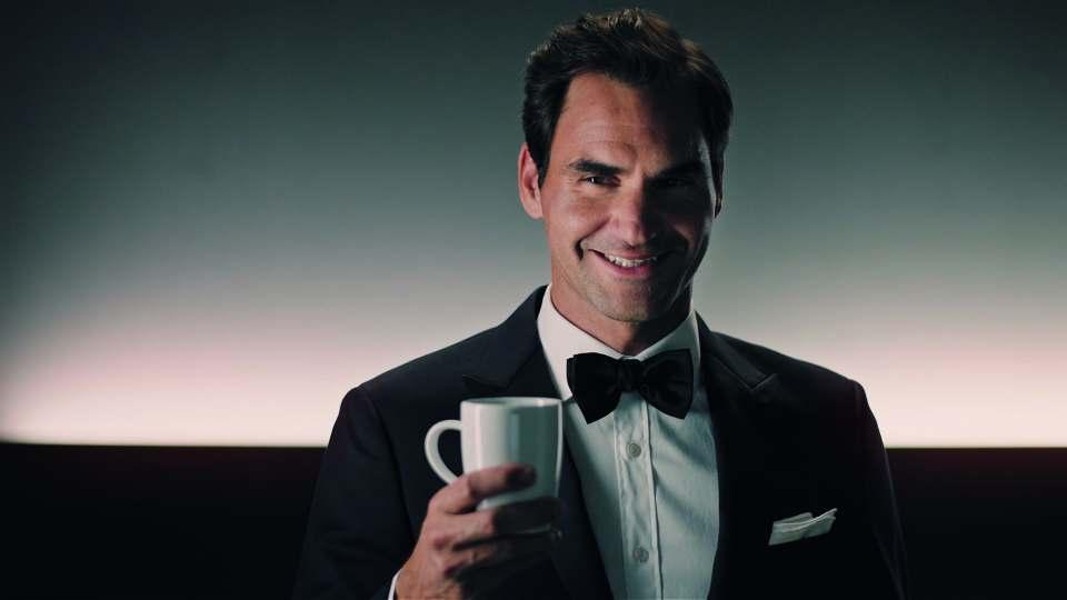 Für Jura auf weihnachtlicher Weltreise: Tennislegende Roger Federer.