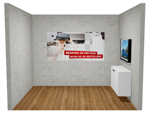 Küche&Co: Virtuelle Realität macht Küchenstudios groß