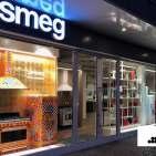 Einer der Schulungsorte: der neue Smeg Flagshipstore in Berlin.