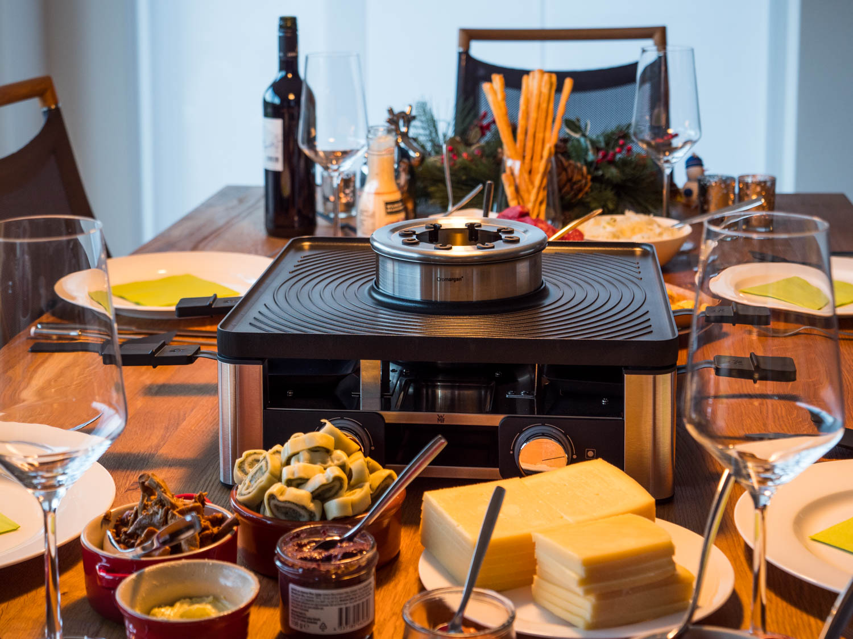 WMF Lumero Gourmet Station | Raclette, Fondue, Tischgrill
