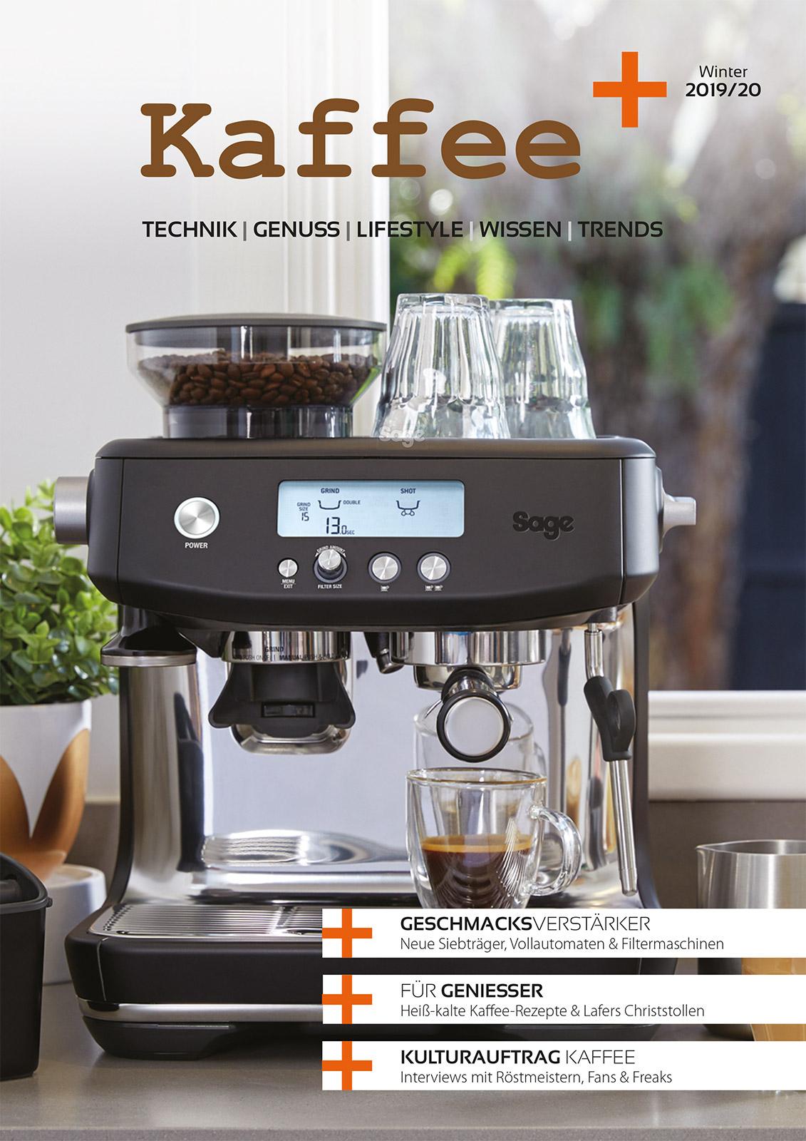 Kaffee+ Titelseite 2019/20