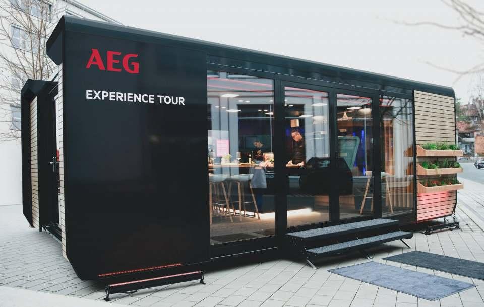 AEG Experience Tour: Gesundes Kochen in der modernen Küche.