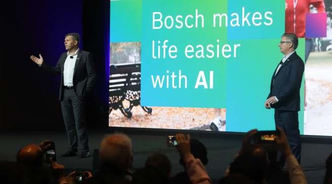 Ein Fokus der Messe lag auf robuster, sicherer KI zur Herstellung von smarten Produkten. Wie diese aussehen, zeigt Bosch auf der CES.