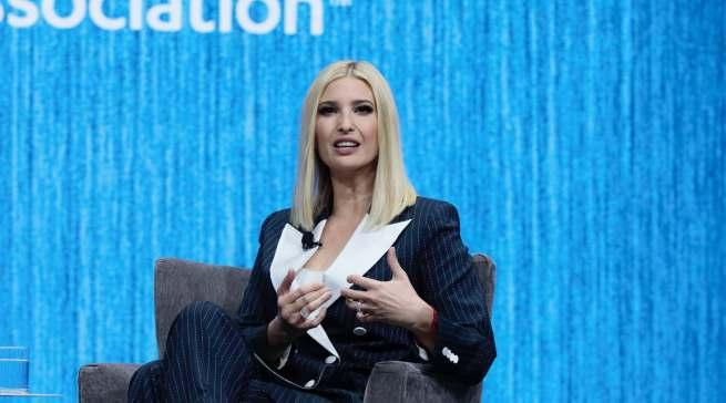 Streichelte die Siemens-Seele und lobte die Errungenschaften der Trump-Regierung: Ivanka Trump, Tochter des amerikanischen Präsidenten, war Keynote-Speaker auf der CES.