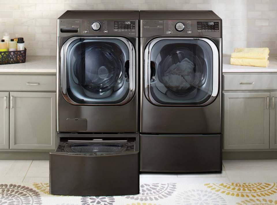 Ausgezeichnet auf der CES: LG Waschmaschine ThinQ.