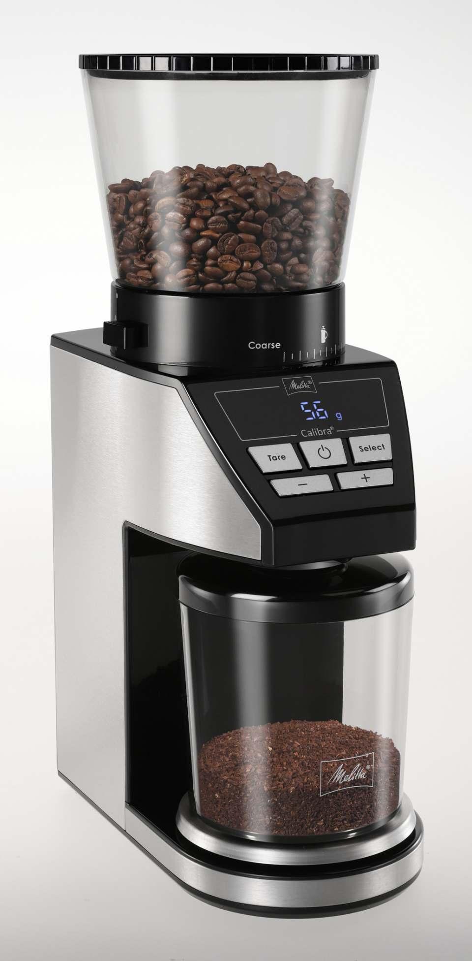 Melitta Kaffeemühle Calibra mit Waage