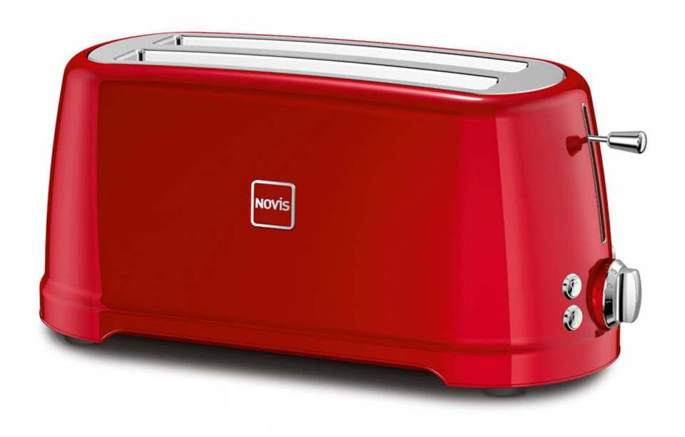 Novis Toaster T4 Iconic mit 1.600 Watt Leistung.