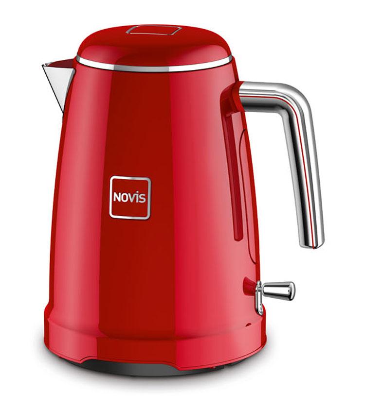 Novis Wasserkocher K1 Iconic mit 1, 6 Liter Fassungsvermögen.