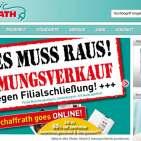 Im stationären Handel nicht mehr haltbar: Elektroartikel bei Schaffrath.