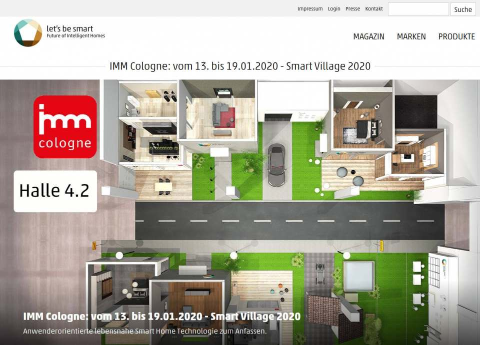 Screenshot letsbesmart.de