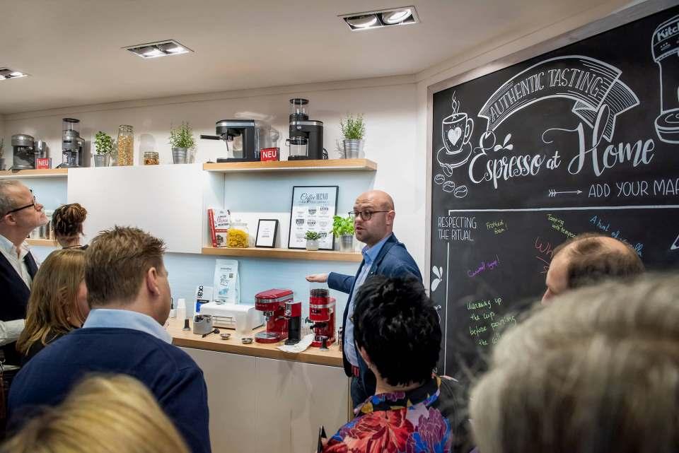 KitchenAid erweitert seine Kaffee-Kompetenz.