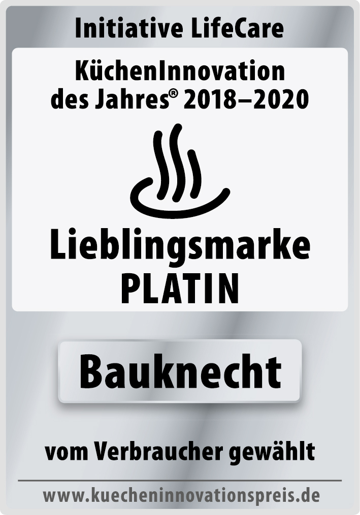 Lieblingsmarke Platin Bauknecht Kücheninnovation