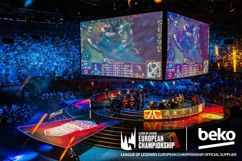 Verlängerte Partnerschaft: Beko und die European League of Legends Championship.