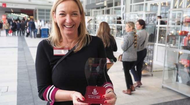 Freut sich sehr über die beiden Auszeichnungen: Andrea Bender, Vice President Strategic Marketing & Development SDA, Preparing, Drinking bei WMF.