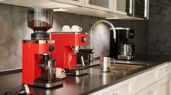 Kann 140 verschiedene Mahlgrade: Kaffeemühle CM 500 von Graef.