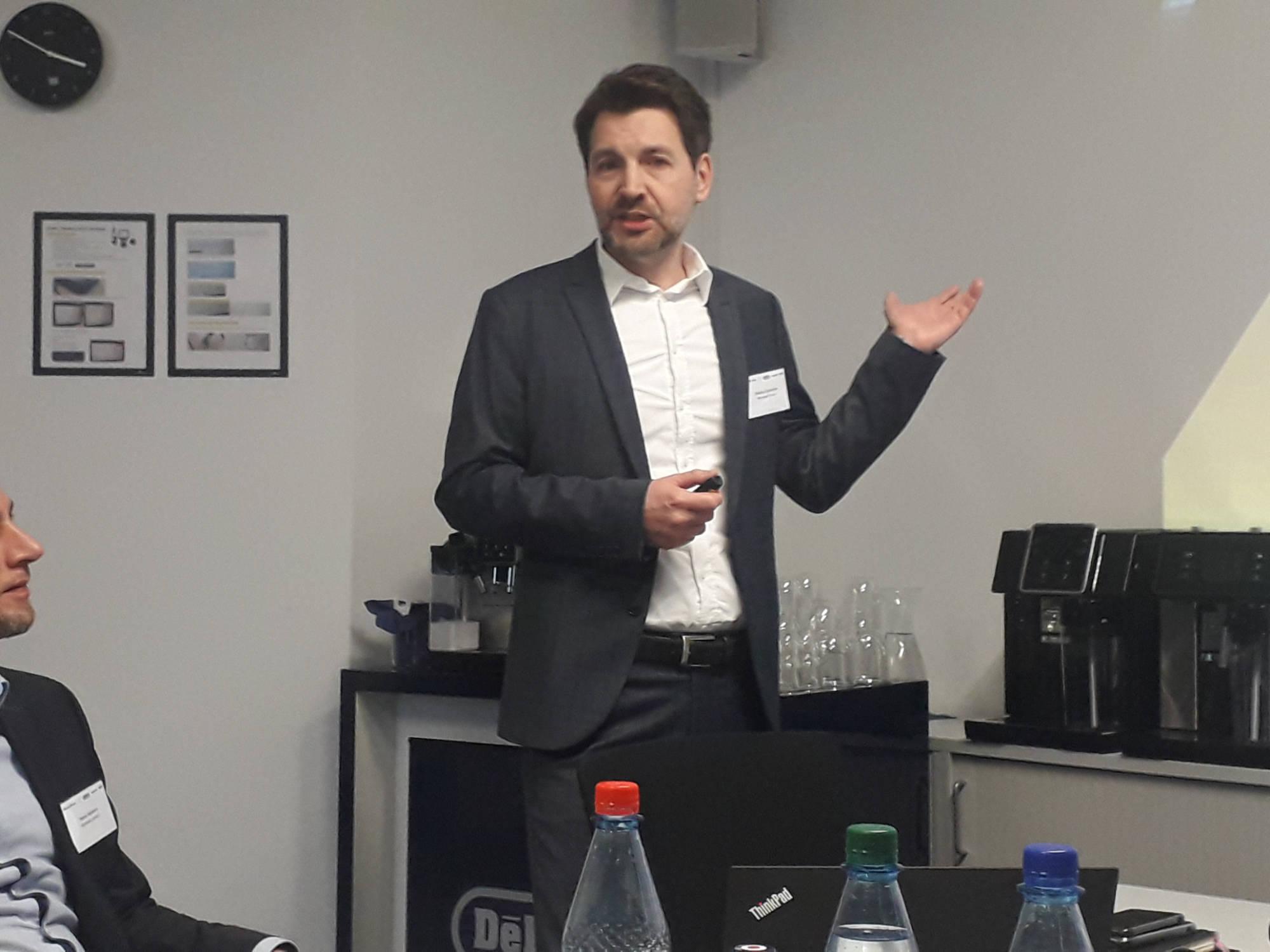 """""""Service erlebbar machen"""": Sales Service Director Dietmar Schnarre."""