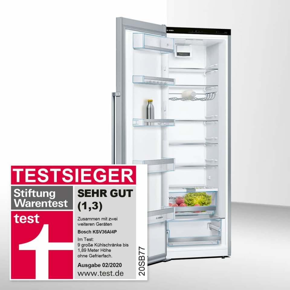 Testsieger: Bosch Kühlschrank KSV36AI4P