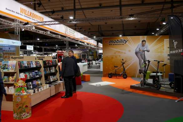 Neuland: Mit der Buchhandelskette Hugendubel gibt es jetzt eine Kooperation.
