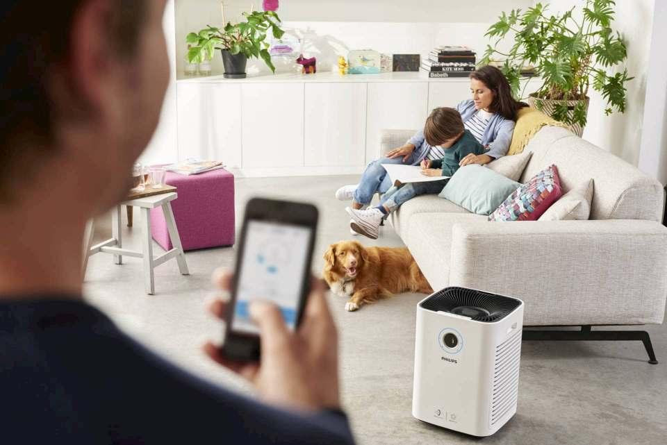Durchatmen mit Philips: Luftreiniger schützen vor Allergien.