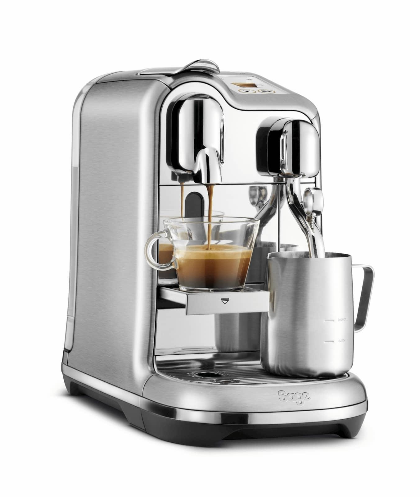 Schafft Espresso und Cappuccino in Rekordzeit und wurde zusammen mit Nespresso entwickelt: the Creatista Pro.