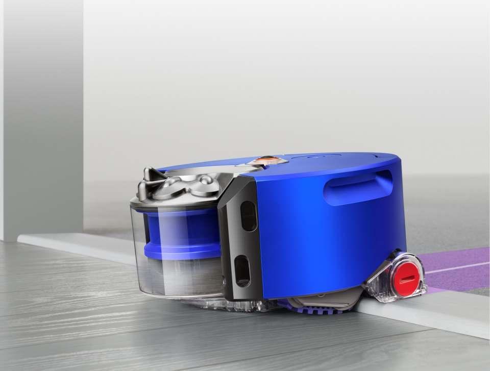 Dyson Staubsauger-Roboter 360 Heurist mitQuad-Core-Prozessoren.