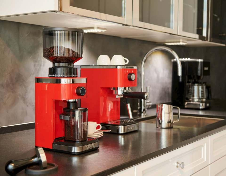 Auf 140 Mahlgrade einstellbar: Graef Kaffeemühle CM 500.
