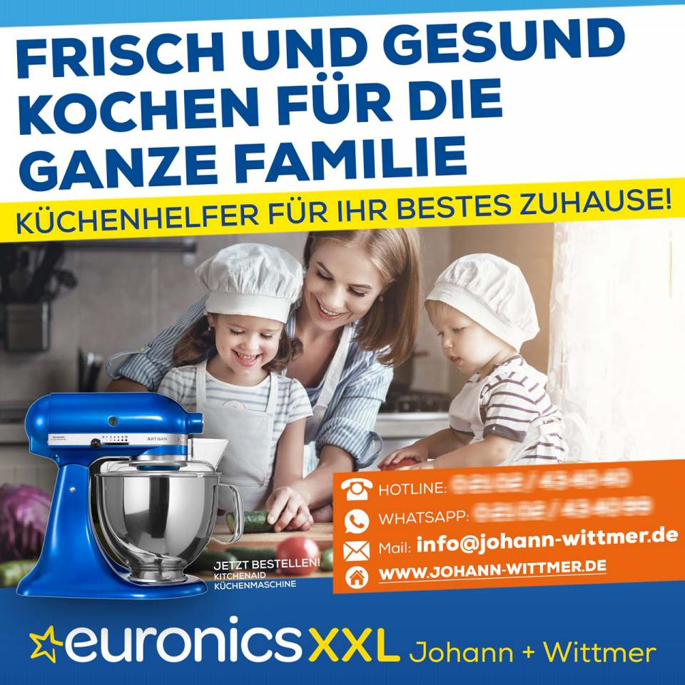 Aktionsplakat Euronics Johann + Wittmer