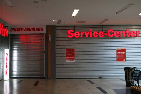 Online-Abholung und Service-Center: Nicht hier, nicht jetzt …