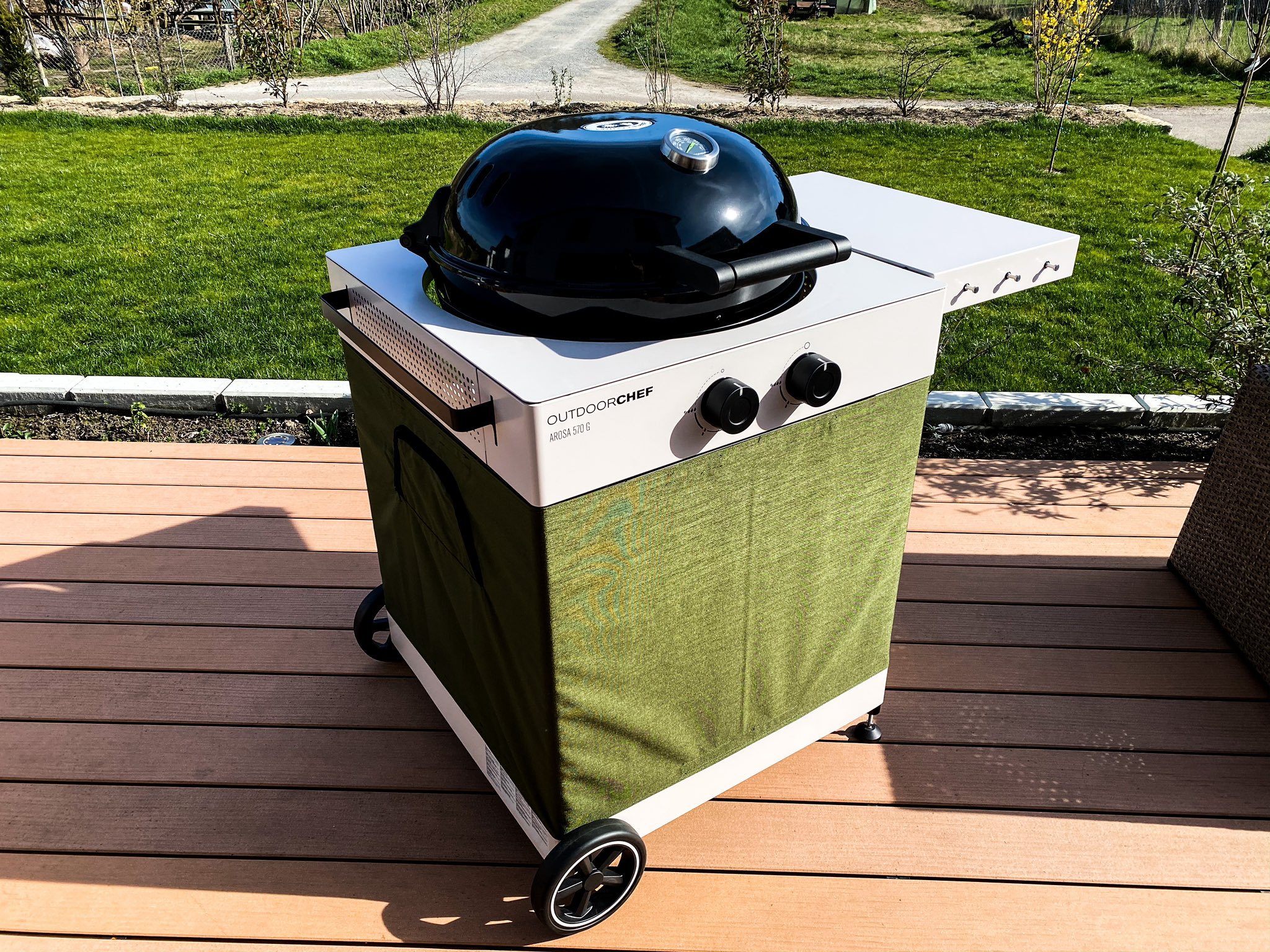 OutdoorChef AROSA 570 G Tex – Moos Green