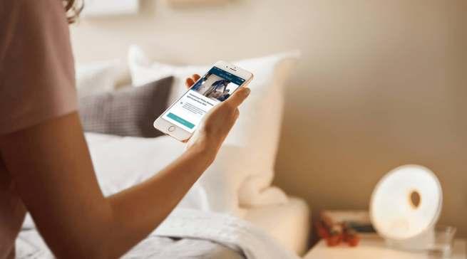 Das Philips-Modell für Erwachsene verfügt über eine App-basierte Tracking Funktionen zur Verbesserung der Schlafumgebung.