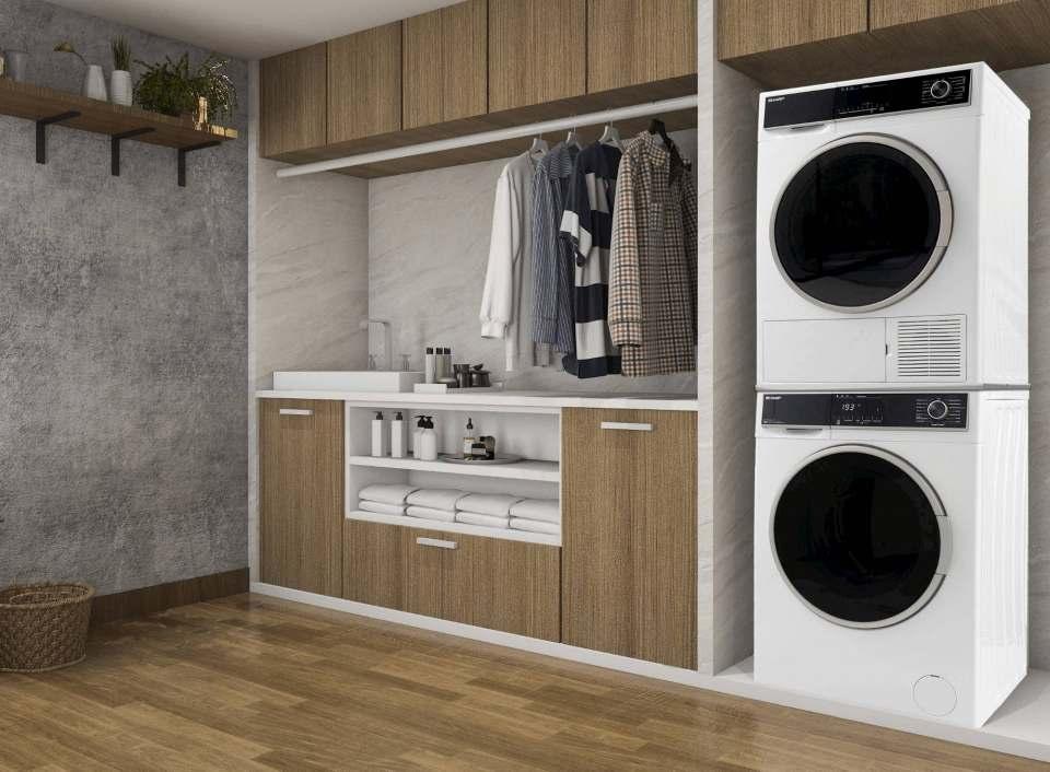 Wachstumsmotor bei Sharp: der Bereich Waschen & Trocknen.