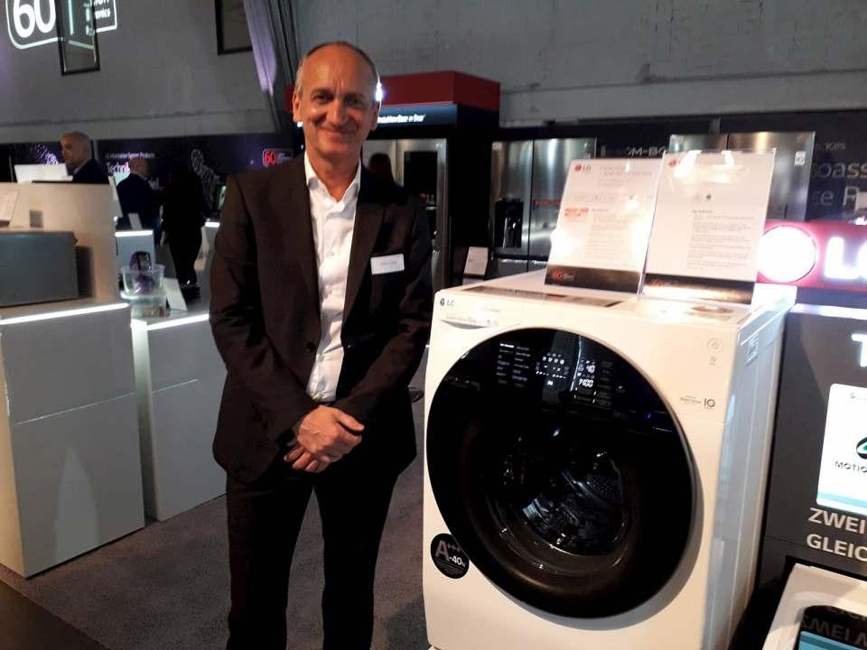 Zdravko Bojcic ist Marketing und Sales Director Home Appliances bei LG.