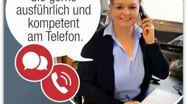 """""""Wir sind für Sie da"""": Für Joachim Malz seit 29 Jahren eine Grundeinstellung."""