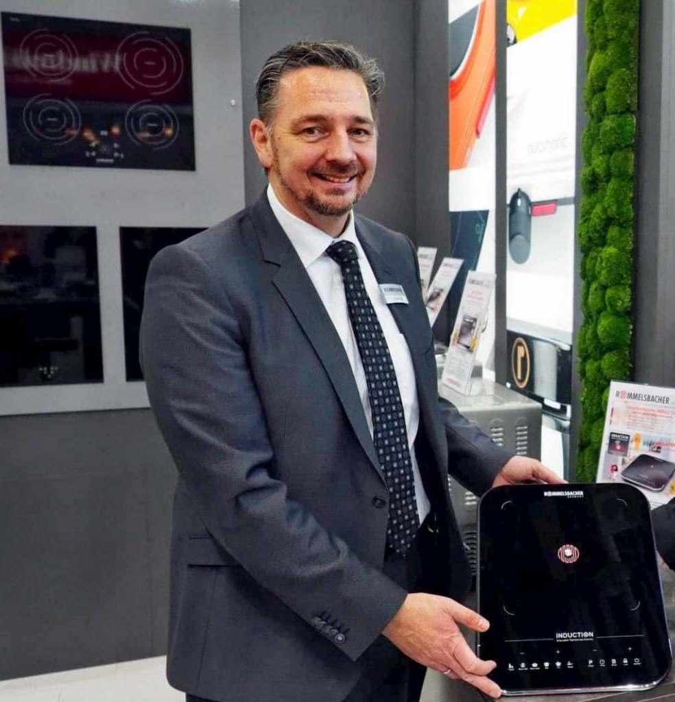 """""""Die Erfahrungen aus unserem neuen Handeln helfen uns, den Kunden besser zu verstehen"""", sagt Rommelsbacher Marketingleiter Thomas Alter."""