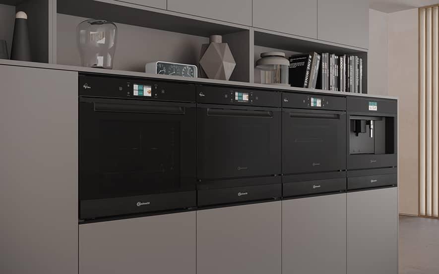 Prämierte Einbaugeräte der Designlinie Collection.11 von Bauknecht.