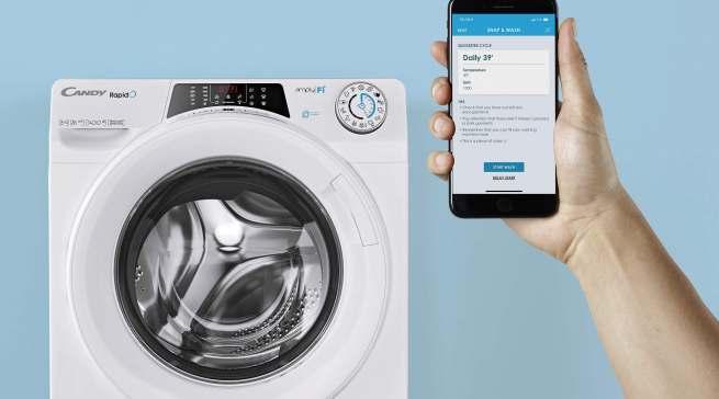 Die Waschmaschine wird in Corona-Zeiten vermehrt am Morgen benutzt.