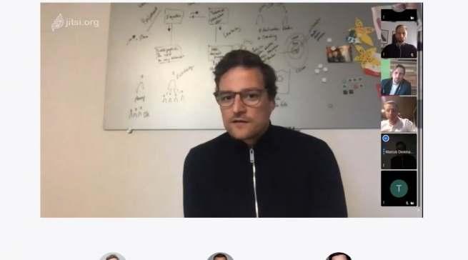 """Moderierte den Digital Talk: Marcus Diekmann (Initiator der Initiative """"Händler helfen Händlern"""" und CEO von Rose Bikes."""