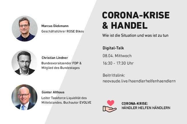 Einladung Digital Talk Händler helen Händlern